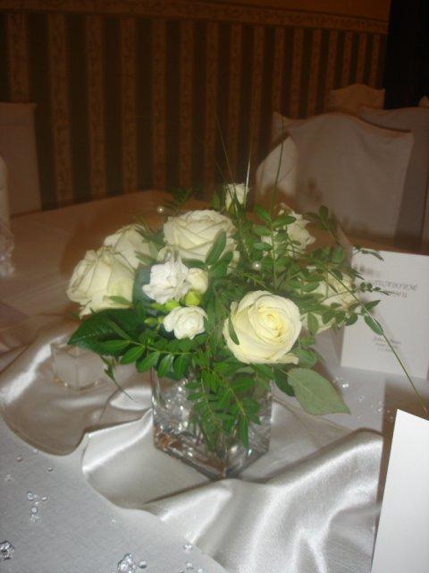 Detaily našej svadby - výzdoba stolov