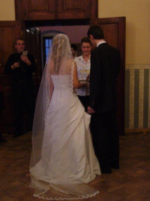 Detaily našej svadby - dlhý závoj - na predaj