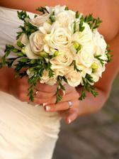 moja svadobna kytica, ktora vyhrala