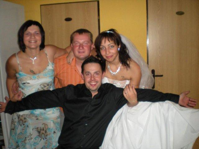 Veronika{{_AND_}}Tomáš Bělešovi - svědek byl opravdu veeelmi akční :-)))