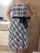 Čierno-biele šaty , 36