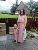 Šaty mama a dcéra, 40