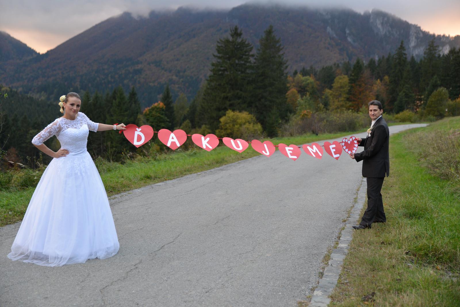 srdieckovy napis na svadobne fotenie - Obrázok č. 1