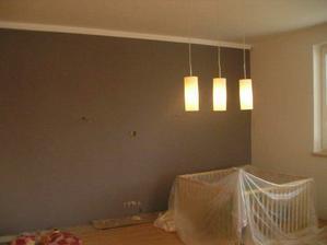 světla v obýváku