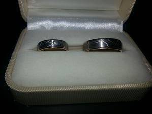naše prstýnky :) Snubní prsteny Rýdl
