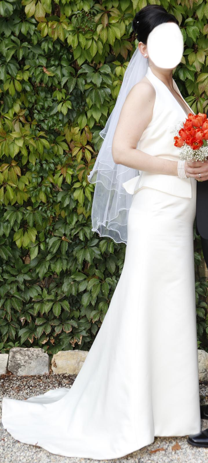 Originální svatební šaty Jesus Peiro - Obrázek č. 1