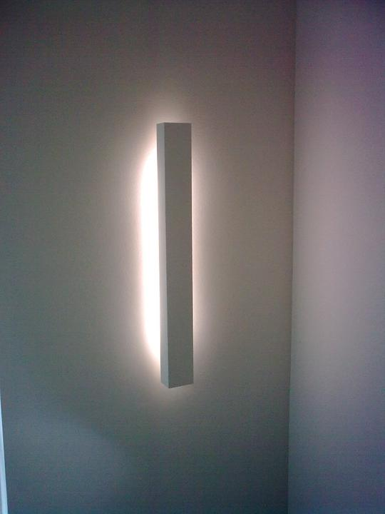 Světlo na schodech