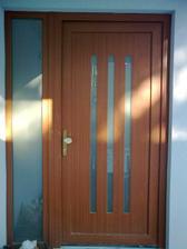 Dveře i okna se moc povedly...:-)