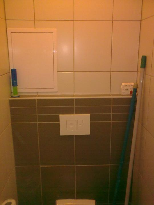 Řepy - Záchod