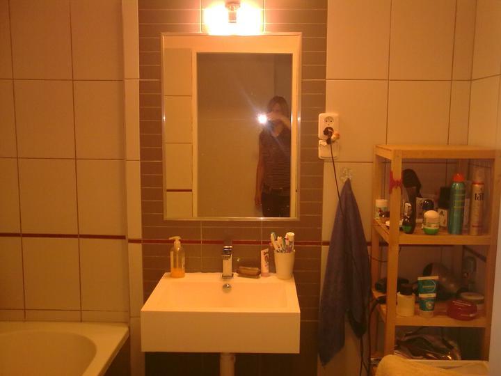Řepy - Dočasné zařízení koupelny