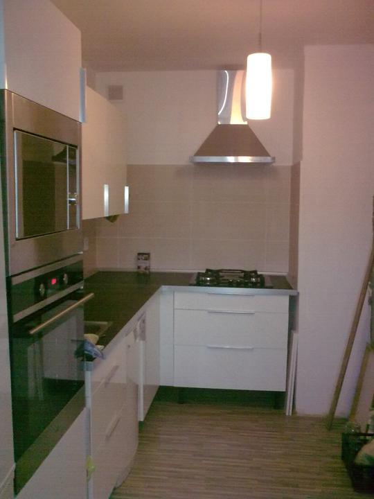 Řepy - Kuchyň, stejný pohled po