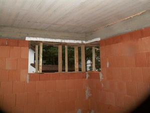 Rohové okno v jedné z ložnic,  zvětšili jsme ho