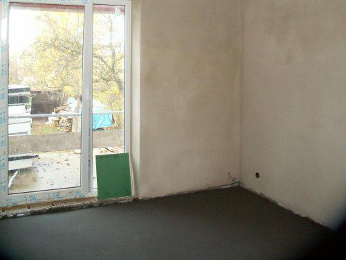 Ložnice, teráska v patře