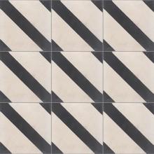 Dekor INDIGO na ručně vyráběné cementové dlažbě a obkladu - Obrázok č. 2