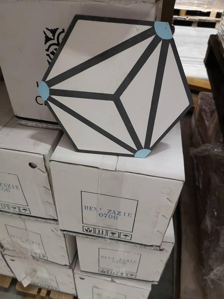 Orientální hexagonální dlažba Zazie - Obrázok č. 2
