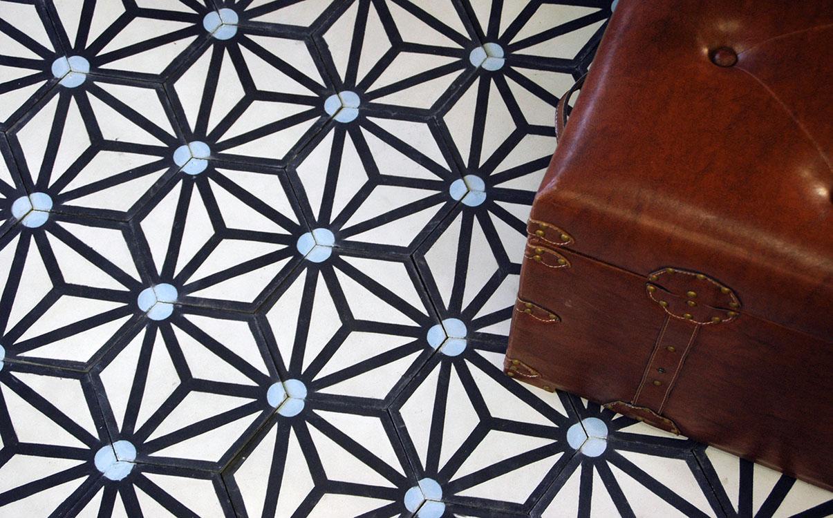 Orientální hexagonální dlažba Zazie - Obrázok č. 1