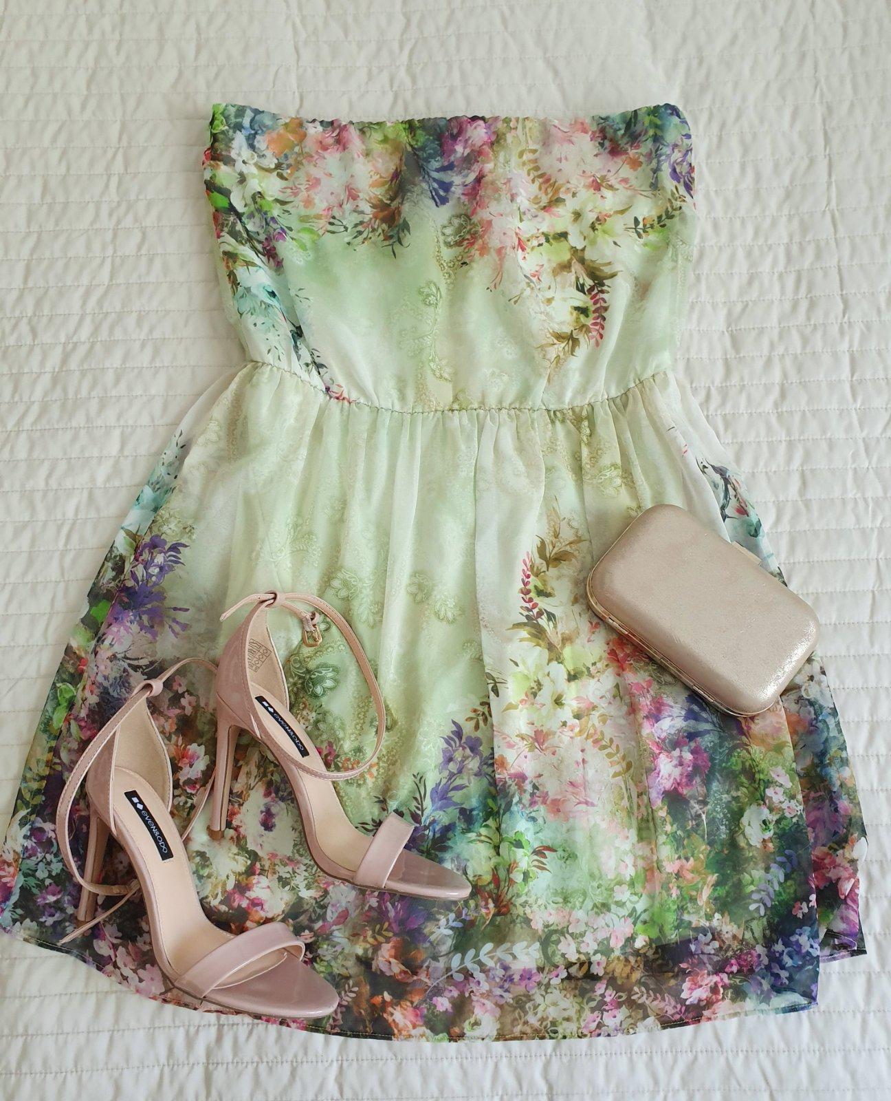 lahulinké šaty Zara - Obrázok č. 1