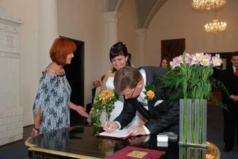 podpis do matriční knihy