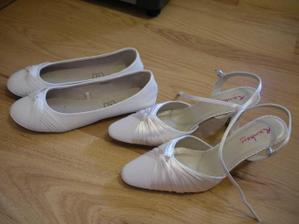 Balerinky na tanec :-)   svatebni botky