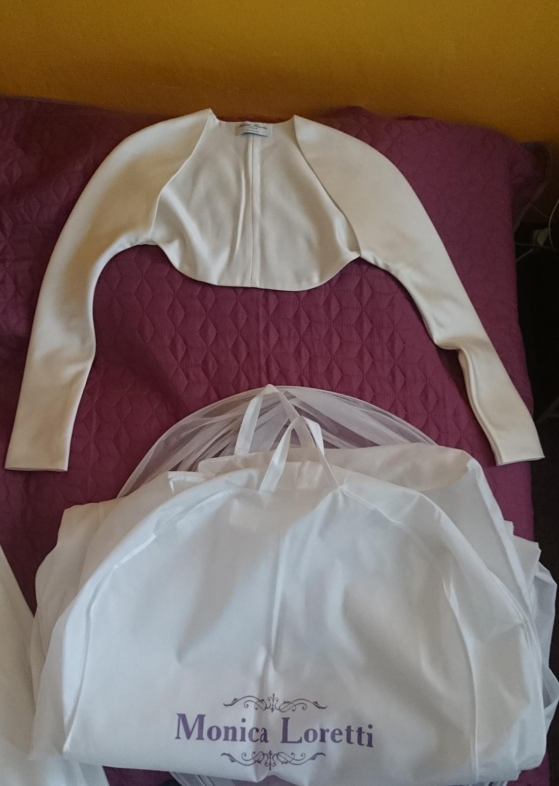 Svadobné šaty Monica Loretti - 36/38 - Obrázok č. 4