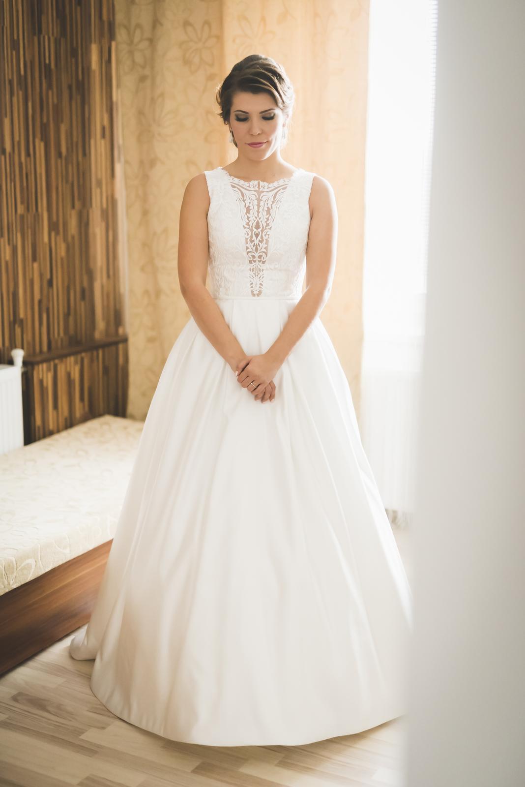 Svadobné šaty Monica Loretti - 36/38 - Obrázok č. 1