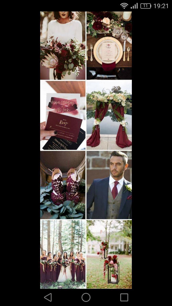 krasna farba.... myslite, ze aj ked mame svadbu v septembri, mohla by byt? Nie je taka vianocna? - Obrázok č. 1