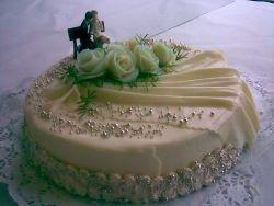 Naše představa svatební dortu (Košvicova cukrárna, Slavkov u Brna)