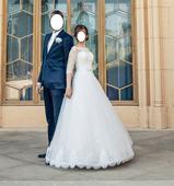 Svadobné šaty s odopínateľnou vlečkou , 34