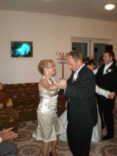 môj krsný otec s manželkou