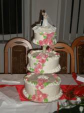 naša svadobná torta od babičky