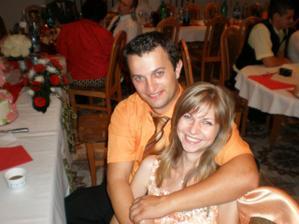moj švagrík  Palo s priateľkou Erikou