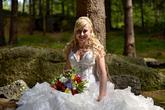 Nevěsta - svatební účes a líčení