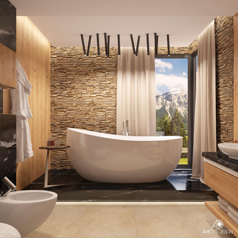 Luxusná kúpelňa v krásnom prostredí - Obrázok č. 1