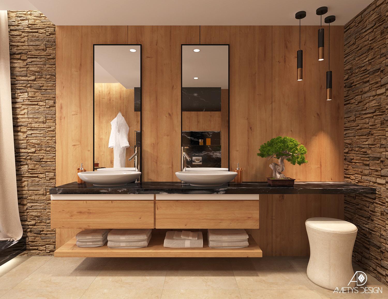 Luxusná kúpelňa v krásnom prostredí - Obrázok č. 2