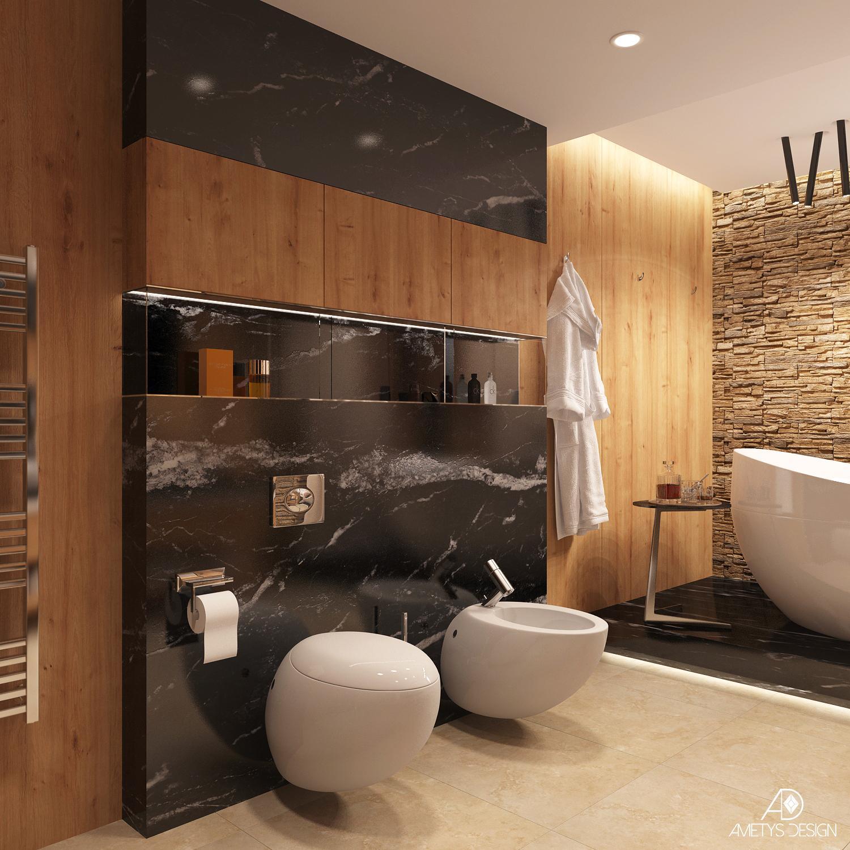 Luxusná kúpelňa v krásnom prostredí - Obrázok č. 3