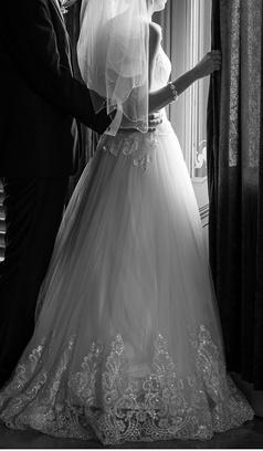 Svadobné šaty Provence - Obrázok č. 1