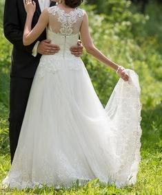 Svadobné šaty Provence - Obrázok č. 3