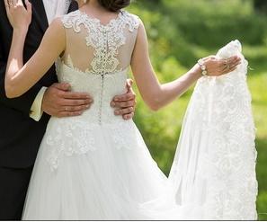 Svadobné šaty Provence - Obrázok č. 4