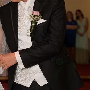 vesta+kravata a vreckovka - Obrázok č. 3