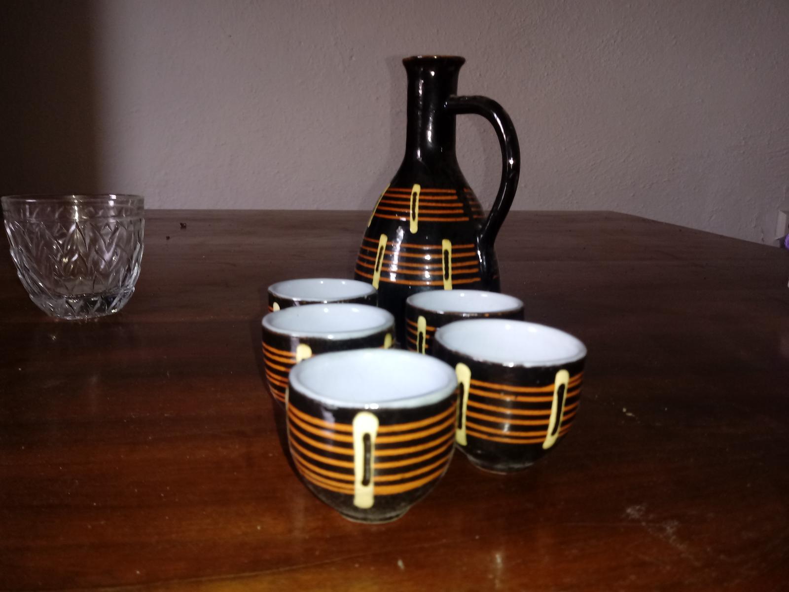 poháriky s džbánikom - Obrázok č. 1