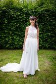 Lehké svatební šaty, ideální na léto, 34