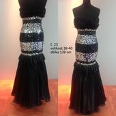 Plesové šaty dámské č. 23, 38