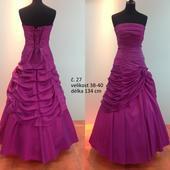 Plesové šaty dámské č. 27, 38