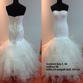 Svatební šaty č. 46, 38