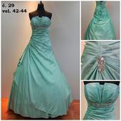 Plesové šaty č. 29, 42