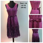 Plesové šaty č. 38 (vel. 40-42), 40