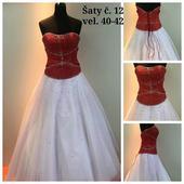 Výprodejové plesové šaty č. 12 (Vel. 40-42), 40
