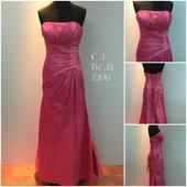 Výprodejové plesové šaty č. 3, 38