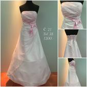 Výprodejové plesové šaty č. 21, 38
