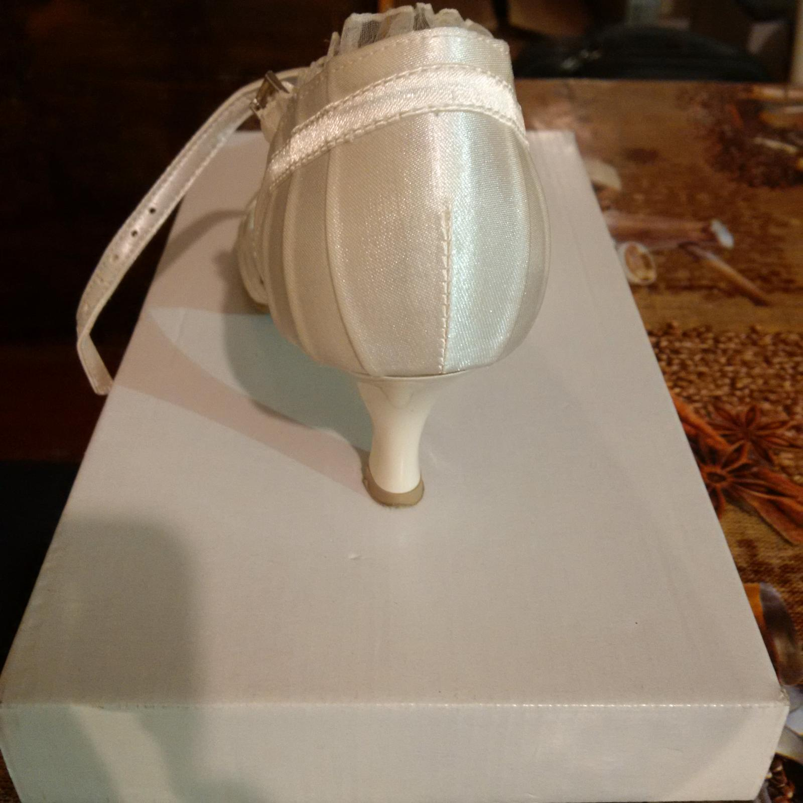 Svatební lodičky ivory - Obrázek č. 4